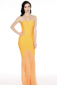 k2534-90% Polyester, 10% Spandex-orange