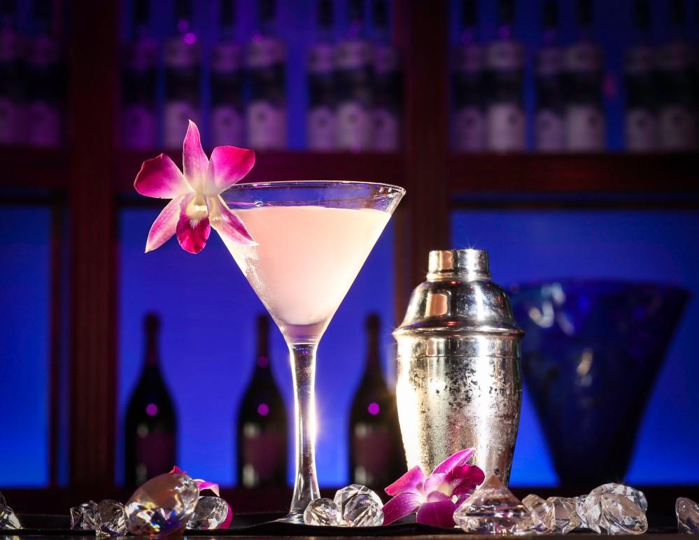 Cocktail at Blue Martini at Pointe Orlando.jpg.jpg