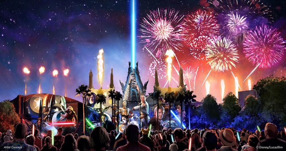 New <em>Star Wars</em> Nighttime Spectacular Coming to Disney's