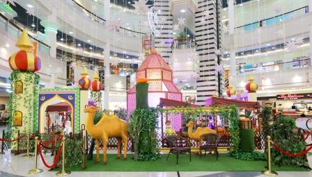 Al Wahda Mall Ramadan Decoration