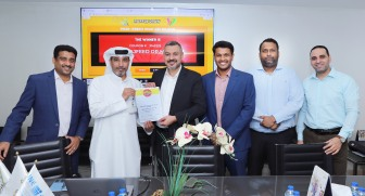 Weekly Mall Millionaire draw with officials from Line Investments & Property and DED