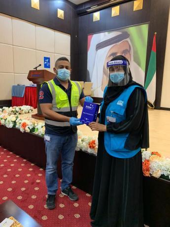 Alia Ali Alamri from Watani Al Emarat Community Services